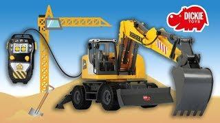 Dickie Toys Baustellen Abenteuer | Dickie Toys Construction Schaufelbagger | MeinSpielzeugmarkt
