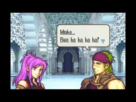Fire Emblem The Sacred Stones Marisa Tana Support 4d Video