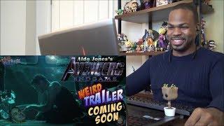 AVENGERS ENDGAME Weird Trailer PREVIEW   What's Happened to Captain America's Beard? - REACTION!!!