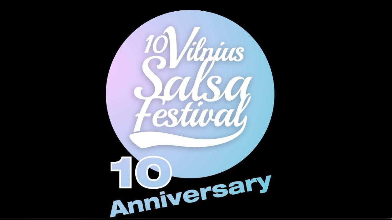 12-asis Tarptautinis Vilniaus Salsos Festivalis, 2018 Gegužės 17-21