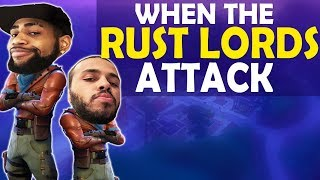 WHEN THE RUST LORDS ATTACK | HIGH KILL FUNNY GAME - (Fortnite Battle Royale)