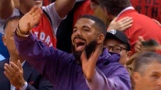 Drake waves goodbye to the Bucks   Raptors vs Bucks Game 3