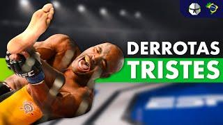 As 10 Derrotas Mais Tristes do MMA