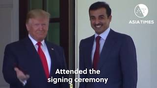 Qatar, US agree major deals as emir visits DC