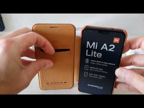 NILLKIN Flip Leather Case For Xiaomi Mi A2 Lite from Banggood