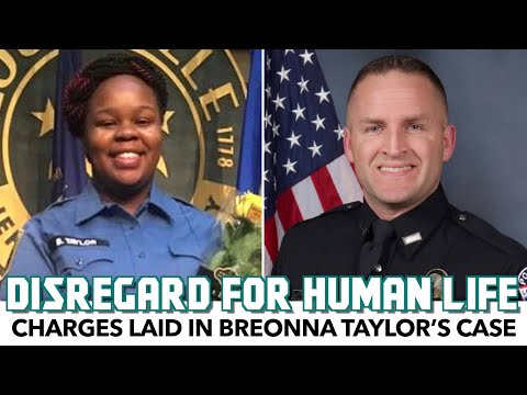 Charges Laid In Breonna Taylor Case Offer No Justice