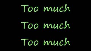 All Time Low  ~ Too Much (Lyrics)