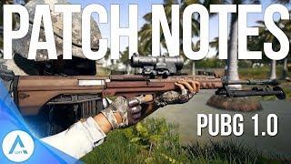 PUBG Xbox Update: Patch Notes 1.0 - Sanhok, New Weapons QBZ, QBU, Vehicles & More!