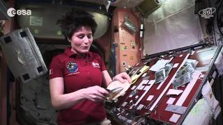 Space Ecards, ESA astronaut Samantha Cristoforetti is currently..