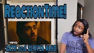 "ZAYN, Zhavia Ward   A Whole New World (End Title) (From ""Aladdin"") REACTION TIME"
