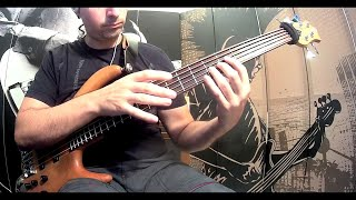 Dream Theater - New Millenium (bass  cover)