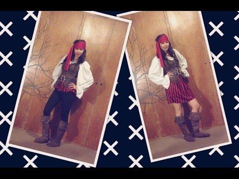 Disfraz de pirata ° Pirate Costume ° Maquillaje