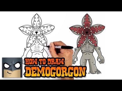 How To Draw Demogorgon Stranger Things Art Tutorial