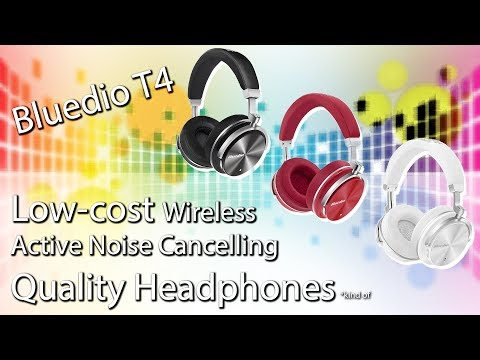 Bluedio T4 Headphones - Unboxing, Review, The Good & the Bad