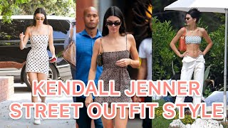 KENDALL JENNER STREET OUTFIT STYLE