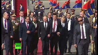 Путин прибывает в Каир с рабочим визитом — LIVE