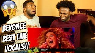 Beyonce's Best  Vocals Almost Kills Us Reaction