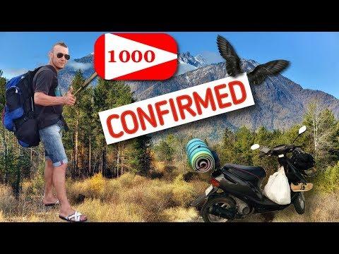 1000 ДРУЗЕЙ-подписчиков на канале!!! Мы сделали это!!