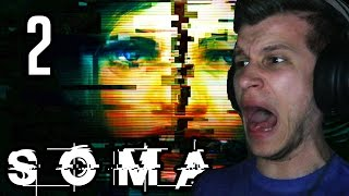 SCARY FAT ROBOTS!! | SOMA Walkthrough Part 2 (SOMA Gameplay PS4/PC 1080p 60fps)