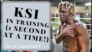 KSI training camp for Logan Paul - 1 second at a time!!