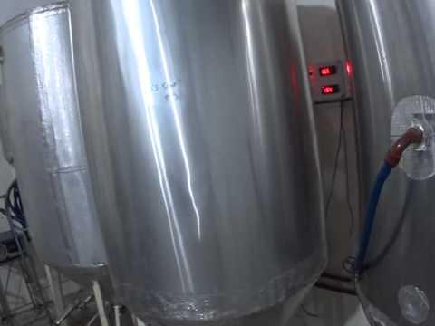 Banco de frio, fermentadores cerveza - Green Belly