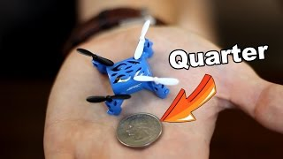Wow! Quarter Sized RC Drone Quadcopter - JJRC H2 Review - TheRcSaylors