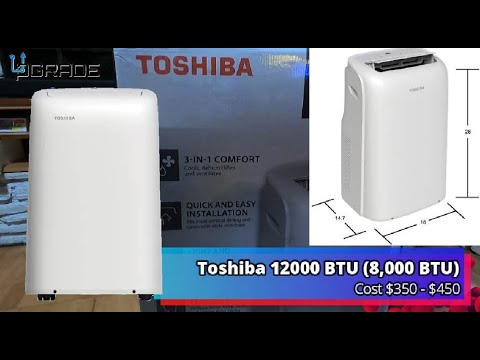 Toshiba Air Conditioner with Remote