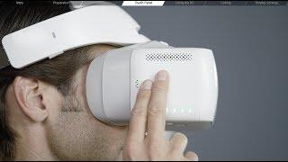 DJI Tutorials - Goggles - Preparing the Goggles