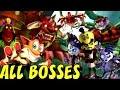 Crash Of The Titans All Bosses no Damage