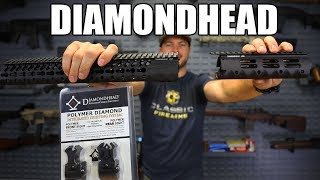 "Diamondhead VRS T-556-KeyMod Free Floating Handguards 10.25"" - Black"