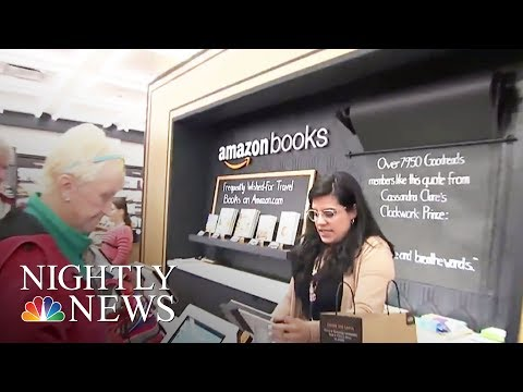 Amazon Opens First New York City Brick-And-Mortar Book Store | NBC Nightly News