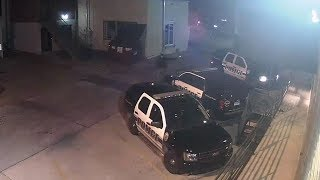 Security footage of Arkansas officer being 'executed' released
