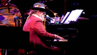 "Dr. John and the Lower 911 performing ""Wild Honey"" at the Prospect Park Bandshell 7/30/11"