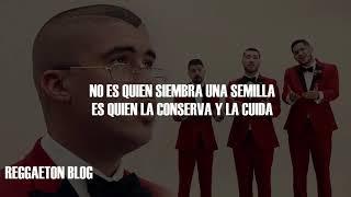 Bad Bunny   Flor Ft Los Rivera Destino (Con Letra) 2019