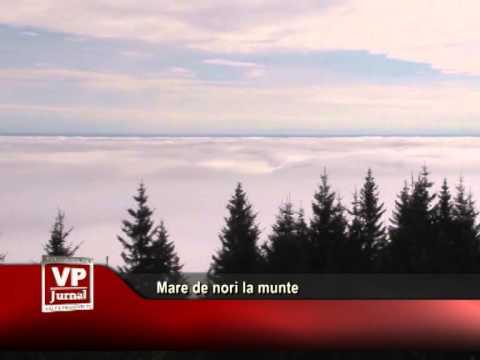 Mare de nori la munte