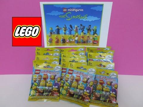 Vidéo LEGO Minifigures 71009 : Les Simpsons - Série 2