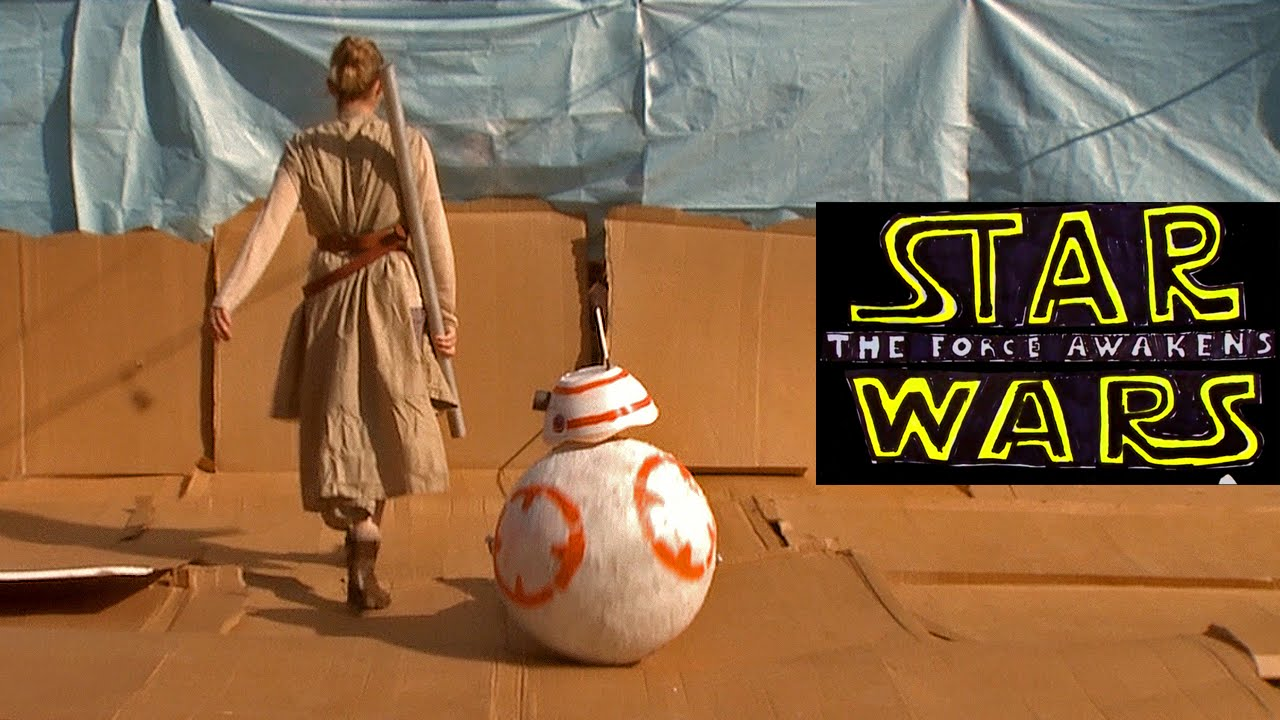 Here's The Cheap Arse Version Of Star Wars: The Force Awakens