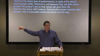 Studies in John - #72: Loose Him and Let Him Go