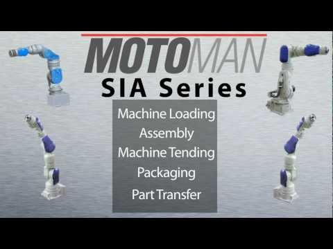 Industrial Assembly Robots in Motoman's SIA Series