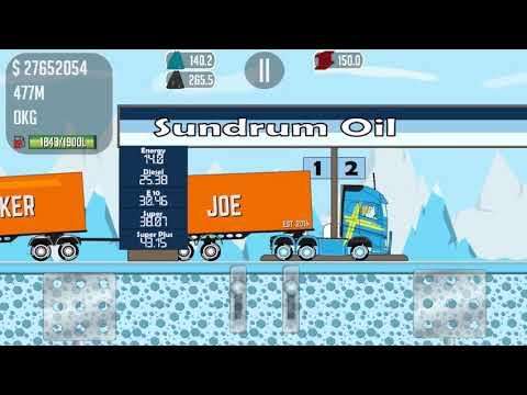 Trucker Joe transports steel on a new truck to a dairy factory