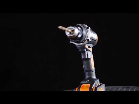 Taladro percutor a batería 20 V Worx WX372