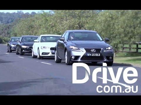 2017 Audi A4 vs BMW 320i Comparison