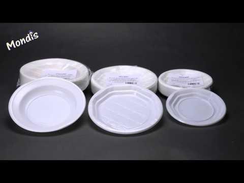 Platos plastico (Mondis)