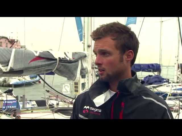 Cowes Week 2015  – solo sailing advice from top Figaro sailor Alan Roberts