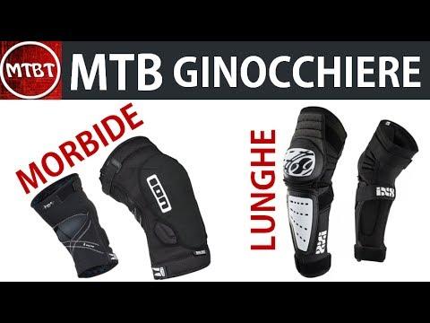 MTB ginocchiere quali scegliere? All Mountain Enduro ION K Lite Zip pad review mountain biking tube