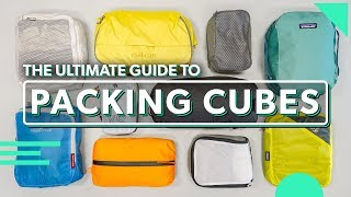 The Ultimate Packing Cubes Guide | How To Use & Choose The Best Packing Cubes For Travel
