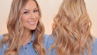 Loose Effortless Curls | Relaxed Waves Hair Tutorial