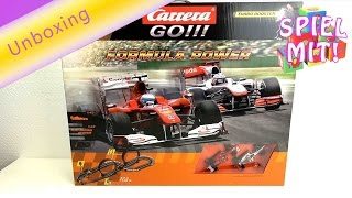 Carrera Bahn Go Formula Racing Track Unboxing 20062271 | Formel 1 Rennstrecke Spielzeug | deutsch