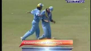 India Vs New Zealand - ICC Knockout Cup 2000-01 Final - Short Highlights - HQ