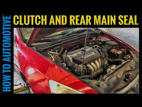 Download How to Replace Clutch and Rear Main Seal on a 2003-2007 Honda Accord without Pulling the Frame Mp4 HD Video and MP3